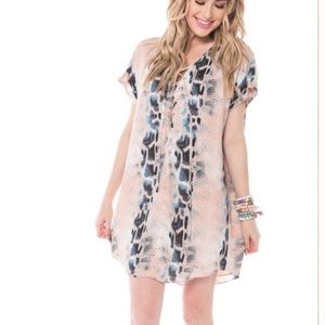 Buddy love snake print dress